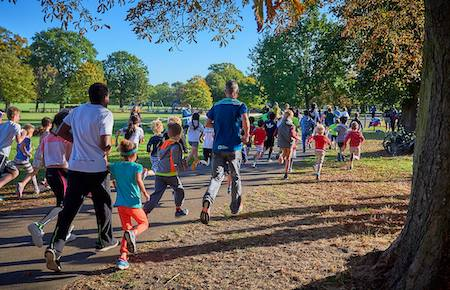 London Fields junior parkrun