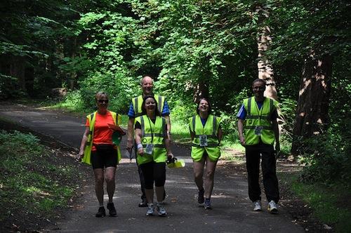 Pollok parkrun, Glasgow Volunteers