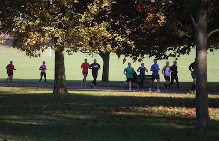 Preston Park parkrun, Brighton