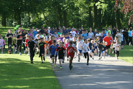 Roundhay junior parkrun