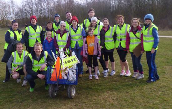 Rushcliffe junior parkrun Volunteers