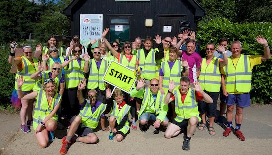 Upton House parkrun Volunteers