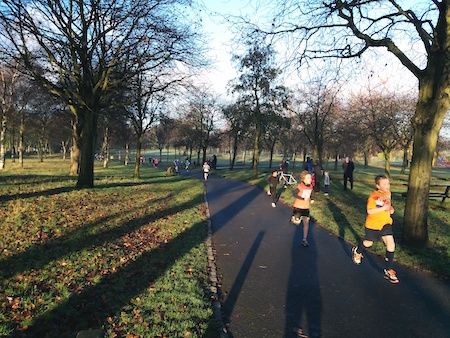 Victoria junior parkrun, Glasgow