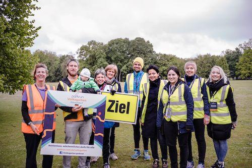 Volksgarten parkrun Volunteers