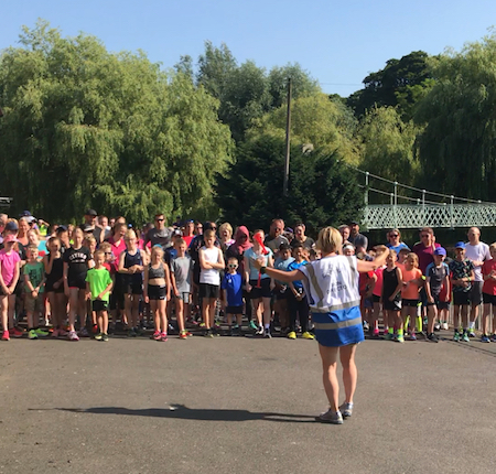 Wardown junior parkrun