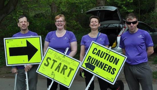 Witton parkrun Volunteers