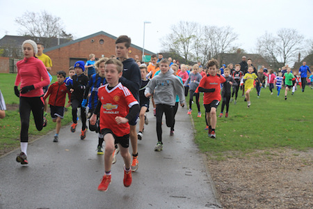 Woodley junior parkrun