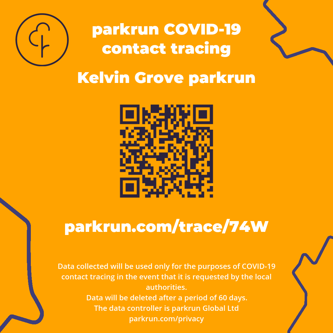 parkrun contact tracing QR Code