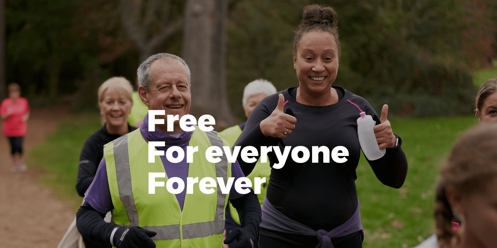 Free, for all, forever